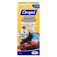 Training Toothpaste, Thomas & Friends Tooty Fruity Flavour