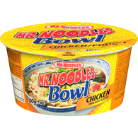Noodles in a Bowl, Chicken