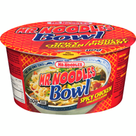 Noodles in a Bowl, Spicy Chicken
