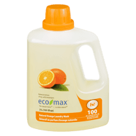 Laundry Wash, Natural Orange