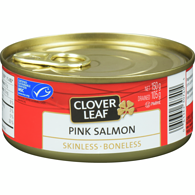 Pink Salmon, Skinless Boneless