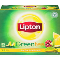 Green Tea, Lemon & Ginseng