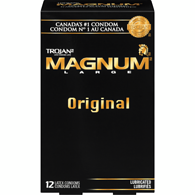 Magnum Lubricated Condoms