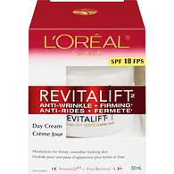 Revitalift Day Cream, SPF 18
