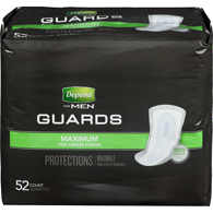 Guards For Men, Maximum Absorbance