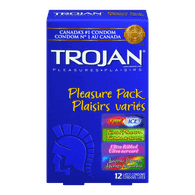 Pleasure Pack Condoms