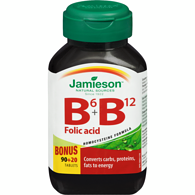 B6 + B12 with Folic Acid