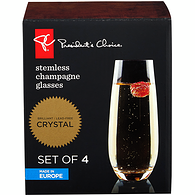 Stemless Champagne Glass