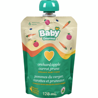 Baby Gourmet 6 Months+, Orchard Apple Carrot & Prune