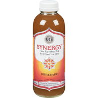 GTs Enlightened Organic Raw Kombucha, Gingerade