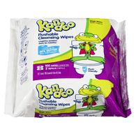 Flushable Wipes, Magic Melon