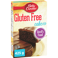 Gluten Free Cake Mix,  Devil's Food Chocolate
