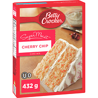Super Moist Cake Mix, Cherry Chip