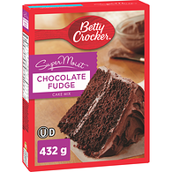 Super Moist Cake Mix, Chocolate Fudge
