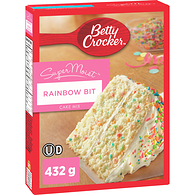 Super Moist Cake Mix, Party Rainbow Chip
