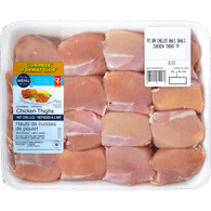 Air-Chilled Chicken Thigh Club Pack, Boneless Skinless