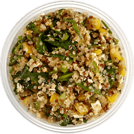 Roasted Corn & Pepper Quinoa