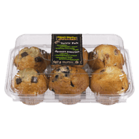 Muffins Variety Pack, Blueberry Cranberry-Lemon Banana Chocolate Chunk