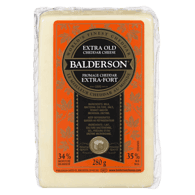 Fromage cheddar extra-fort blanc