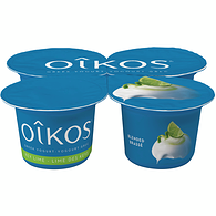 Key Lime 2% M.F. Greek yogurt,4x100g