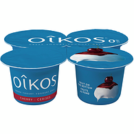 Cherry 0% M.F. Greek yogurt,4x100g