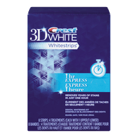 3D White White Strips, 2 Hour Express
