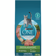 ONE SmartBlend Indoor Hairball and Weight Control Adult Cat Food