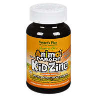 Organic Nature's Plus Animal Parade Kid Zinc Lozenges