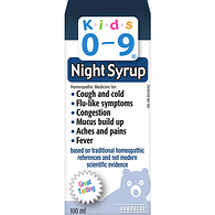 Homeopathic Medicine, Cough & Cold Nighttime Formula