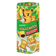 Lotte Koala March Biscuits, Chocolate