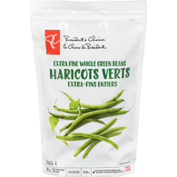 Haricots Verts Extra Fine Whole Green Beans - Frozen