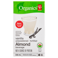 Fortified Almond Milk, Unsweetened Vanilla