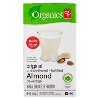Fortified Almond Milk, Unsweetened Original