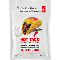 Seasoning Mix, Hot Taco