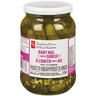 Baby Dill Pickles With Garlic