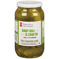 Baby Dill Pickles, No Garlic