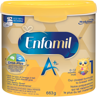 A+ Infant Formula Powder Tub