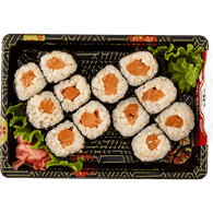 Salmon Roll with Brown Rice