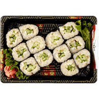 Cucumber Roll with Brown Rice
