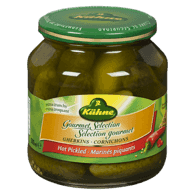 Kuehne Gherkins, Hot Pickled