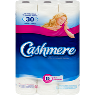 2 Ply Bathroom Tissue 15 Rolls