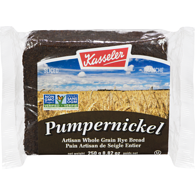 Pumpernickel Rye Bread, Sliced