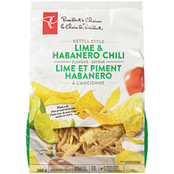 Kettle Cooked Tortilla Chips, Lime & Habanero Chili
