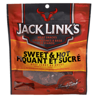 Beef Jerky, Sweet & Hot