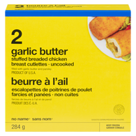 Stuffed Breaded Chicken, Garlic Butter (2 Pack)