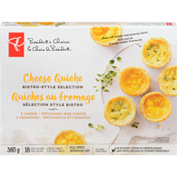 Mini Quiches, 3 Cheese
