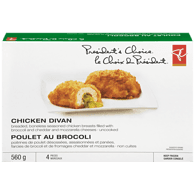 Chicken Divan, Broccoli and Cheese
