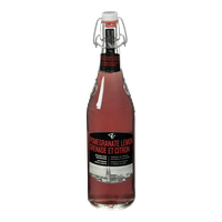 Sparkling Beverage, Pomegranate Lemon