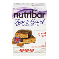Type 2 Brand Bars, Caramel Delight