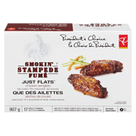 Smokin' Stampede Just Flats Gigantico Chicken Winglets